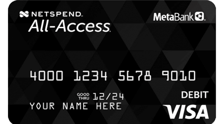 Netspend All-Access Account by MetaBank review