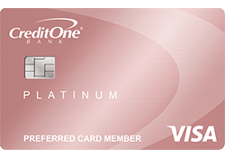Credit One Bank® Platinum Rewards Visa with No Annual Fee logo