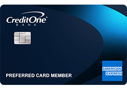 Credit One Bank® American Express® Card logo