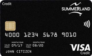 Summerland Rewards Credit Card