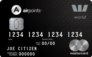Westpac Airpoints World Mastercard Review