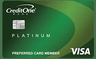 Credit One Bank® Platinum Visa® for Rebuilding Credit review