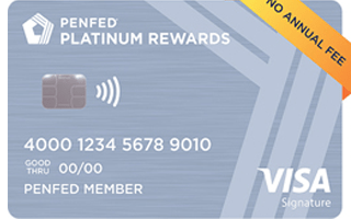 PenFed Platinum Rewards Visa Signature® Card review