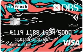 DBS Live Fresh Student Card image