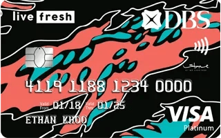 DBS Live Fresh Card Review