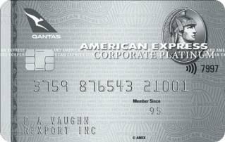American Express Qantas Corporate Platinum Card