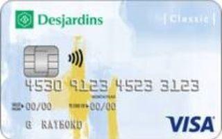 Desjardins Classic Visa card review