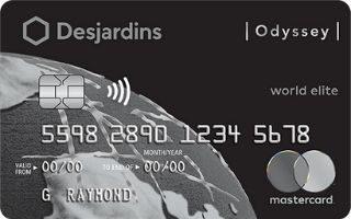 Desjardins Odyssey World Elite Mastercard review