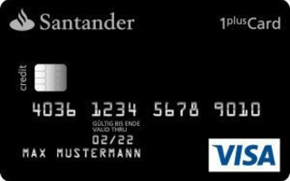 Santander 1plus Visa Card review