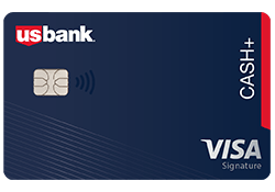 U.S. Bank Cash+™ Visa Signature® Card logo