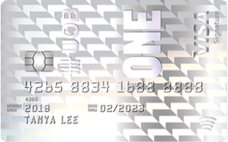 UOB One Credit Card image