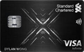 Standard Chartered Visa Infinite X Credit Card Review