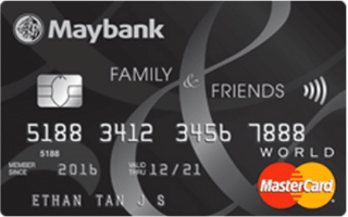 Maybank Family & Friends Credit Card image