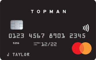 Topman Mastercard review September 2020