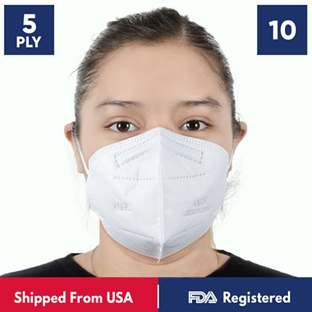 KN95 Respirator Masks: 5 - 1,000 pc from Cufy