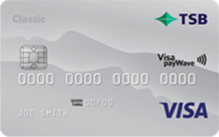 TSB Visa Classic credit card