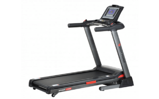 Body Power Sprint T700 Folding Treadmill with Tablet Holder image