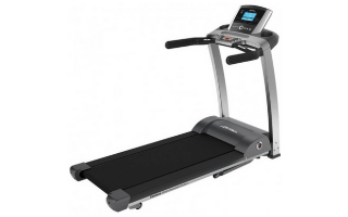 Life Fitness F3 Folding Treadmill with Go Console image