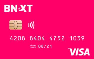 Reseña de la Cuenta Bnext México