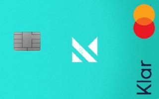 Revisión de la tarjeta Klar