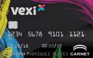 Conoce Vexi y su tarjeta con línea de crédito