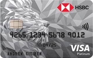 HSBC Platinum Credit Card – Bonus Points Offer