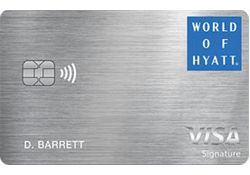 The World of Hyatt Credit Card logo