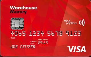 The Warehouse Money Visa Card
