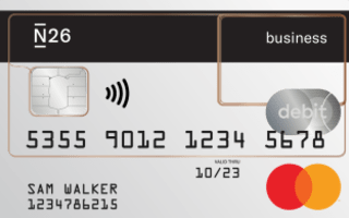 N26 Business Accounts review