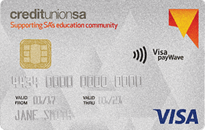 Credit Union SA Education Community credit card