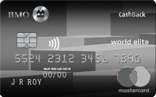 BMO CashBack World Elite Mastercard Review