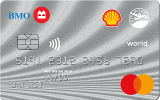 Shell AIR MILES World Mastercard from BMO Review