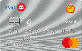 Shell CashBack World Mastercard from BMO Review