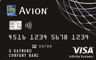 RBC Avion Visa Infinite Business Card
