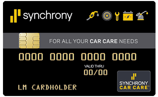 Synchrony Car Care™ credit card review