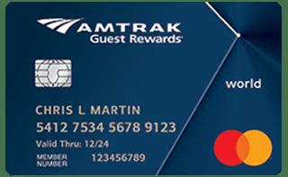 Amtrak Guest Rewards® World Mastercard® review