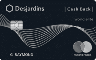Desjardins Cash Back World Elite Mastercard