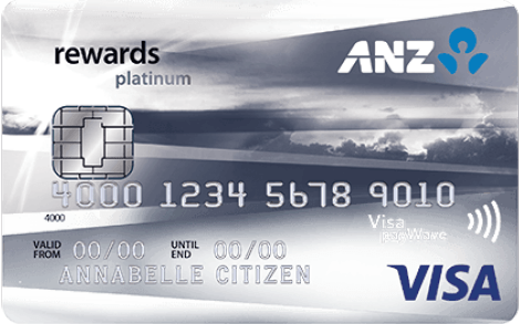 ANZ Rewards Platinum Credit Card – Exclusive Offer