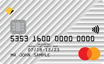 CommBank Low Rate Card