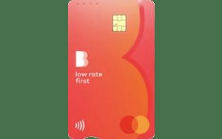 Bendigo Bank Low Rate First Credit Card