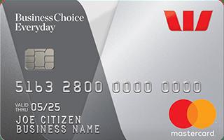 Westpac BusinessChoice Rewards Platinum Mastercard