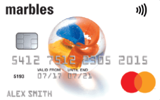 Marbles Classic Credit Card