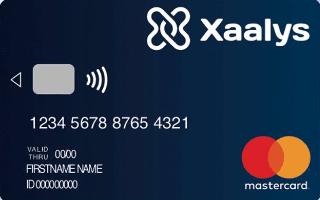 Xaalys Premium Carte de paiement