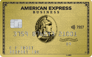 American Express Gold Business Card image