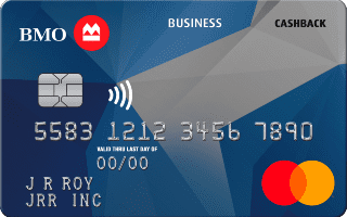 BMO Cashback Business Mastercard