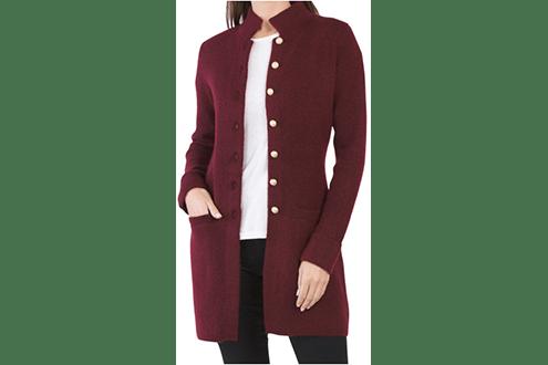 Adrienne Vittadini coatigan with pockets