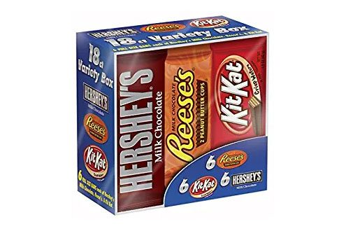 Hershey Chocolate Candy Bar Variety Pack