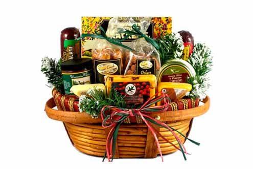 Home For The Holidays Christmas Gift Basket