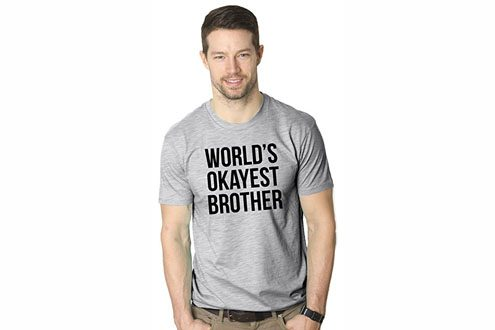 Mens Worlds Okayest Brother Shirt