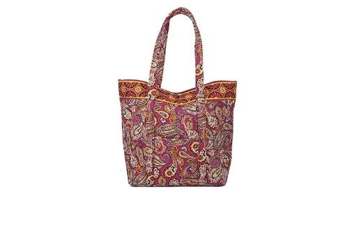 Large Square Bottom Tote by Stephanie Dawn